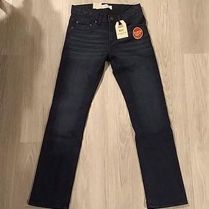NWT Levi's 511 Slim Fit Jeans 25W 25 L